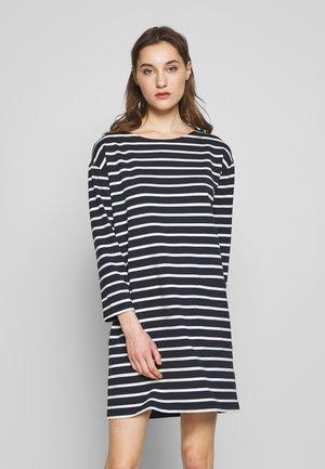 Jersey dress - multi/dark blue