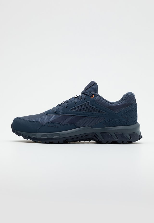 RIDGERIDER 5.0 - Neutral running shoes - indigo/navy/orange