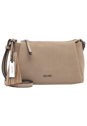 Across body bag - sand 420
