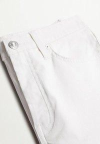 Mango - Jeansy Skinny Fit - white - 5