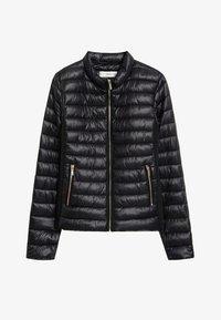 Mango - BLANDI - Light jacket - noir - 3