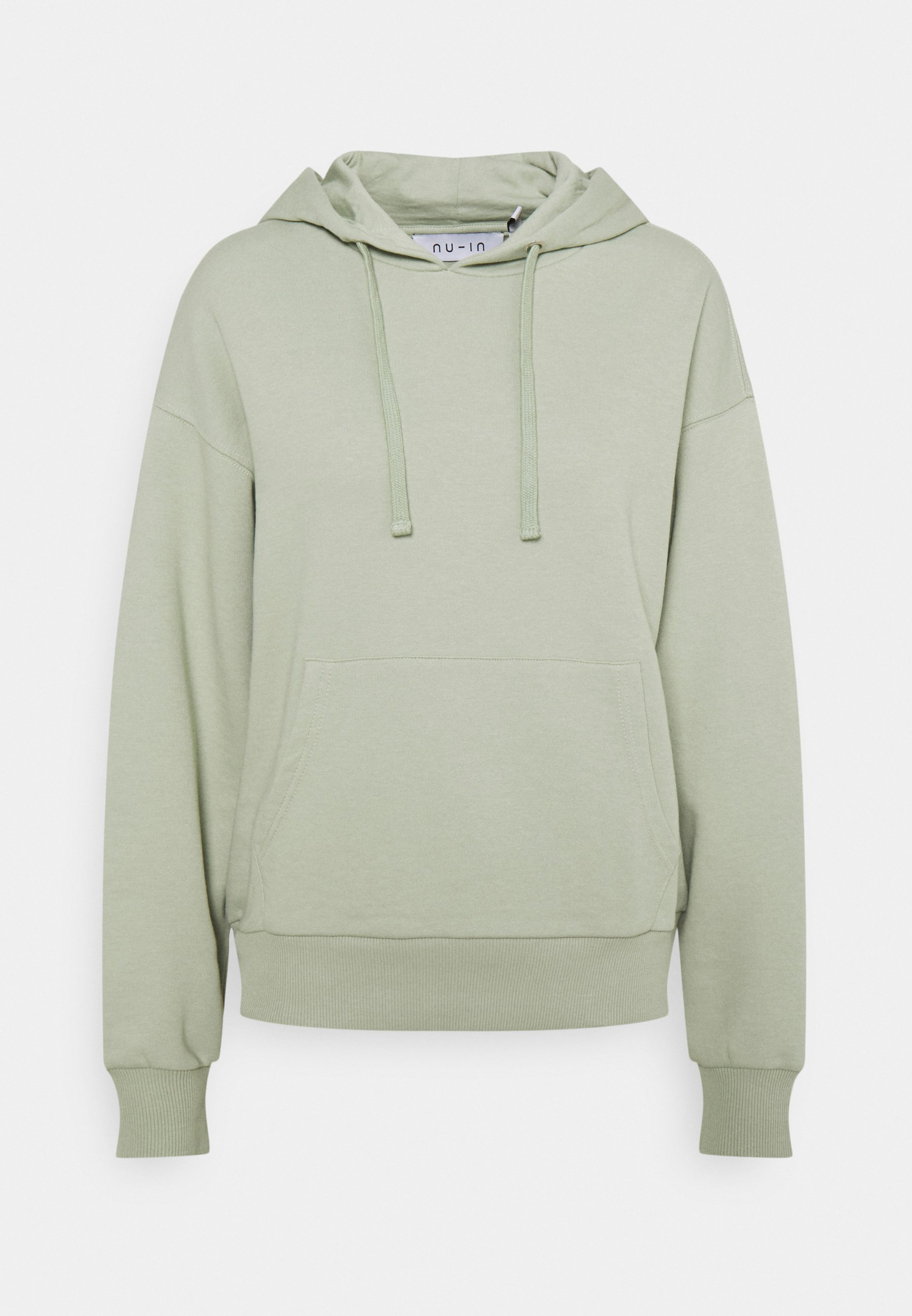 Women BASIC FRONT POCKET HOODIE - Sweatshirt