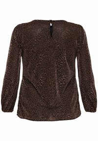ONLY Carmakoma - Long sleeved top - black - 5