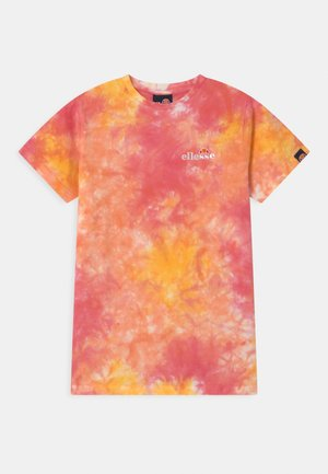 DEANI - T-shirt con stampa - pink/yellow