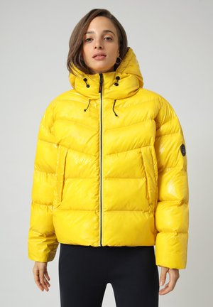 A-LOYLY - Winter jacket - yellow oil