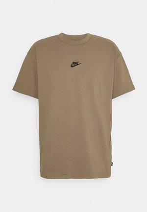 TEE PREMIUM ESSENTIAL - T-shirt basique - sandalwood