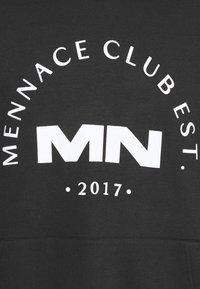 Mennace - CLUB HOODIE UNISEX - Sweatshirt - black - 2