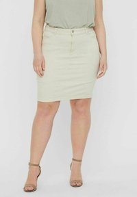 Vero Moda Curve - Pencil skirt - birch - 0