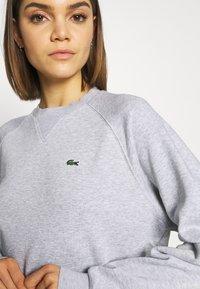 Lacoste - Bluza - silver chine/green - 5