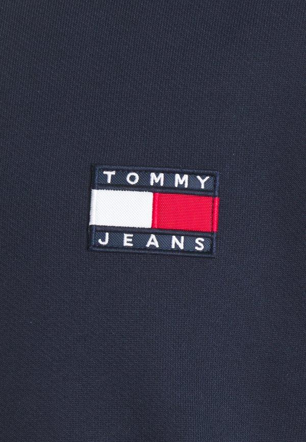 Tommy Jeans BADGE CREW UNISEX - Bluza - twilight navy/szary melanż Odzież Męska EREB