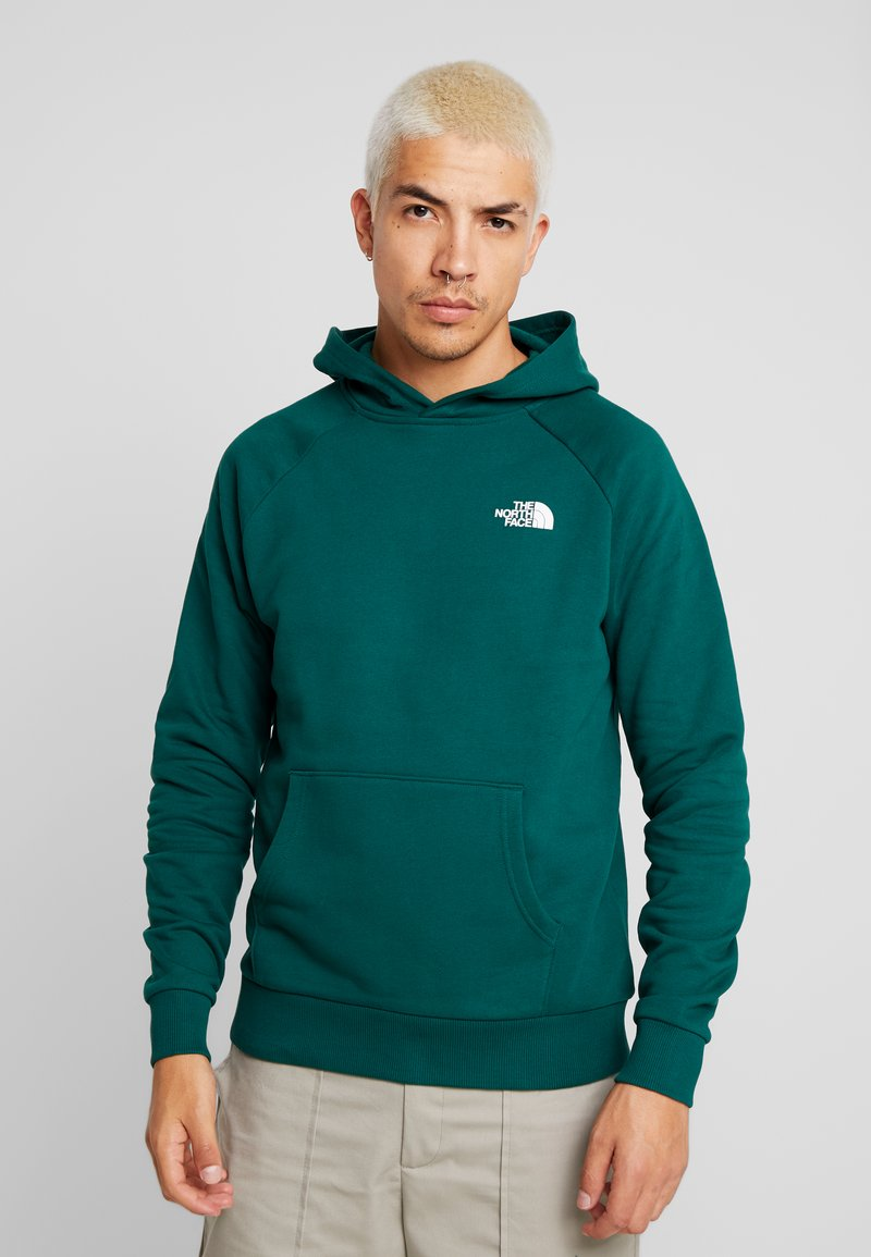 The North Face - REDBOX HOODIE - Mikina s kapucí - night green