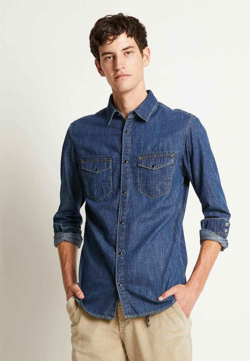 Jack & Jones - JJIFOX JJSHIRT - Chemise - blue denim