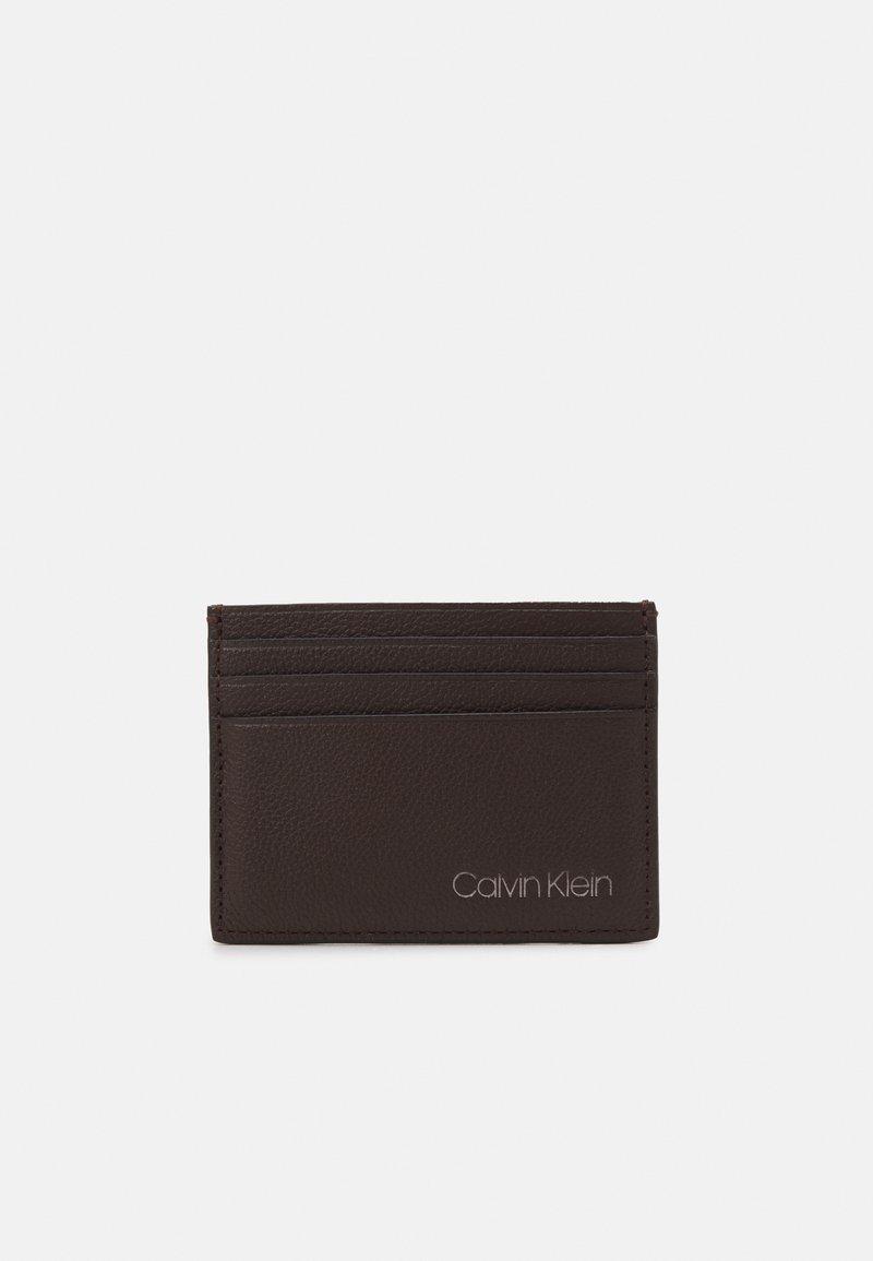 Calvin Klein - CARDHOLDER UNISEX - Wallet - brown