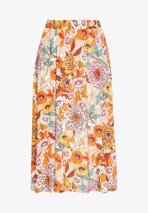 NICE - Áčková sukně - sesame