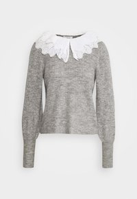 OBJGISELLE  - Jumper - medium grey melange