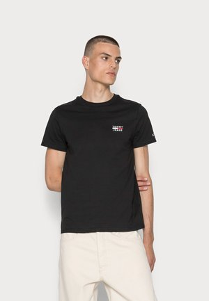 CHEST LOGO TEE - Basic T-shirt - black