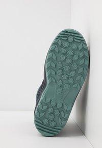 Lowa - MADDOX WARM GTX - Winter boots - steel blue/jade - 5
