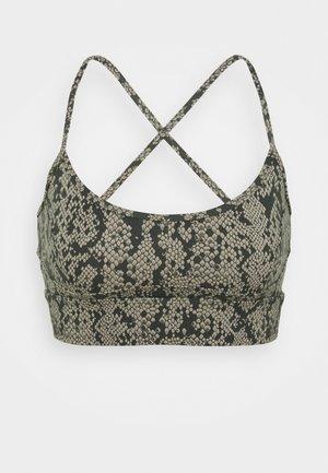 IRENA BRA - Medium support sports bra - olive