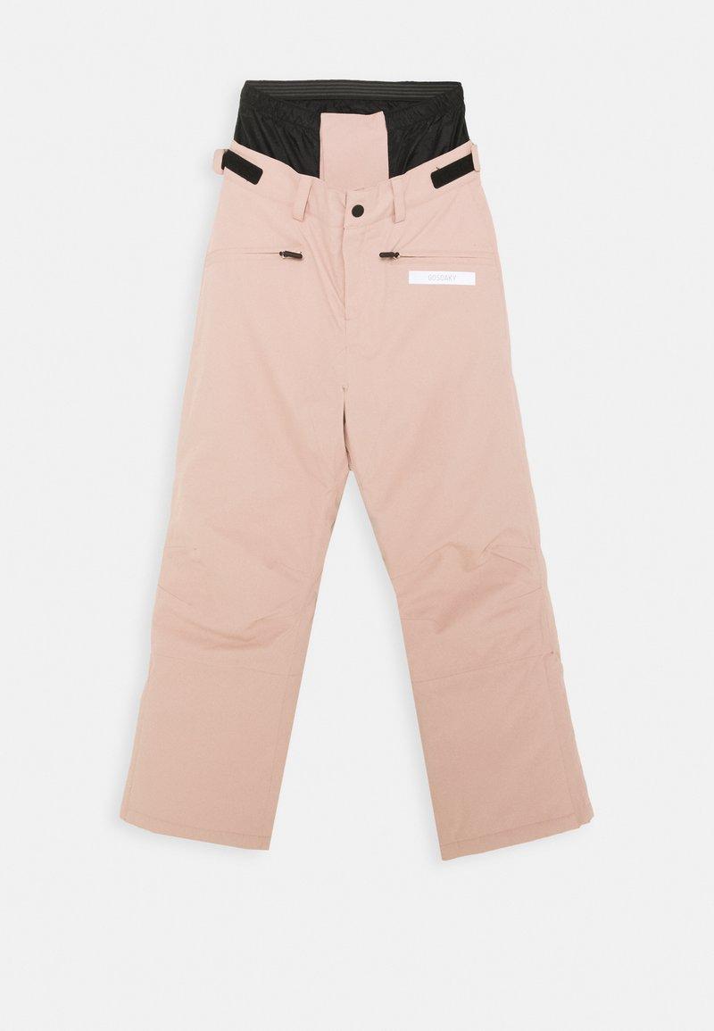 Gosoaky - BIG BAD WOLF UNISEX - Zimní kalhoty - evening pink