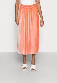 comma casual identity - Pleated skirt - orange - 0