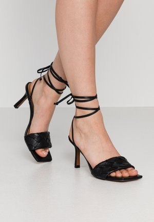 MEARA - High heeled sandals - black