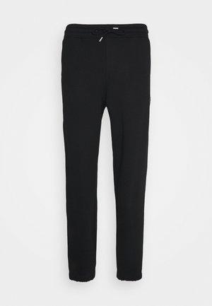 HANGER TROUSERS - Teplákové kalhoty - black