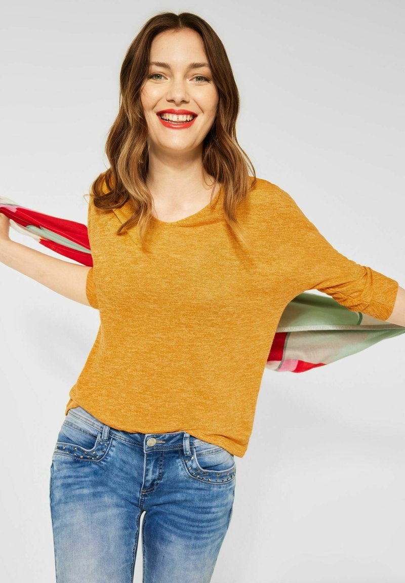 Street One - Long sleeved top - gelb