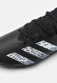 adidas Performance - PREDATOR FREAK .3 TF UNISEX - Astro turf trainers - core black/footwear white - 5