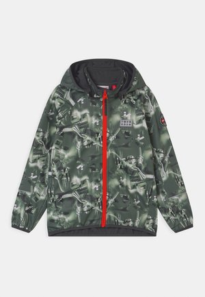 SAKSO UNISEX - Soft shell jacket - dark green
