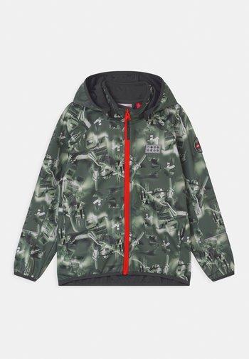 SAKSO UNISEX - Soft shell jacket - dark green