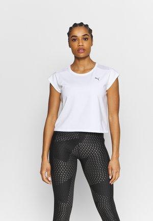 TRAIN TEE - Basic T-shirt - white