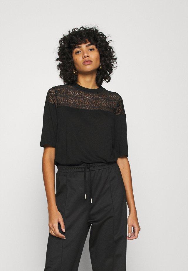 ONLBESSIE LIFE MIX - T-shirt imprimé - black