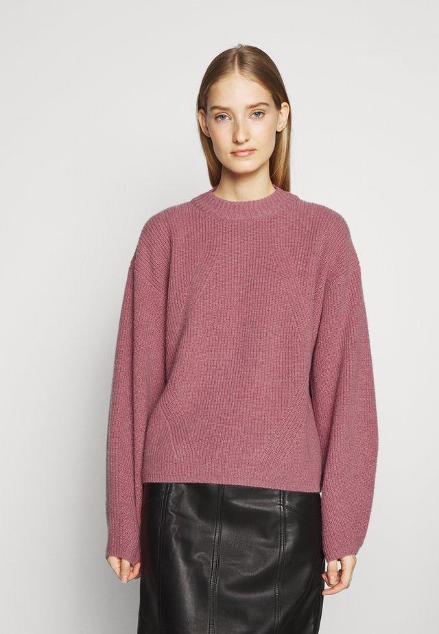 SABAHAT - Pullover - dark pink