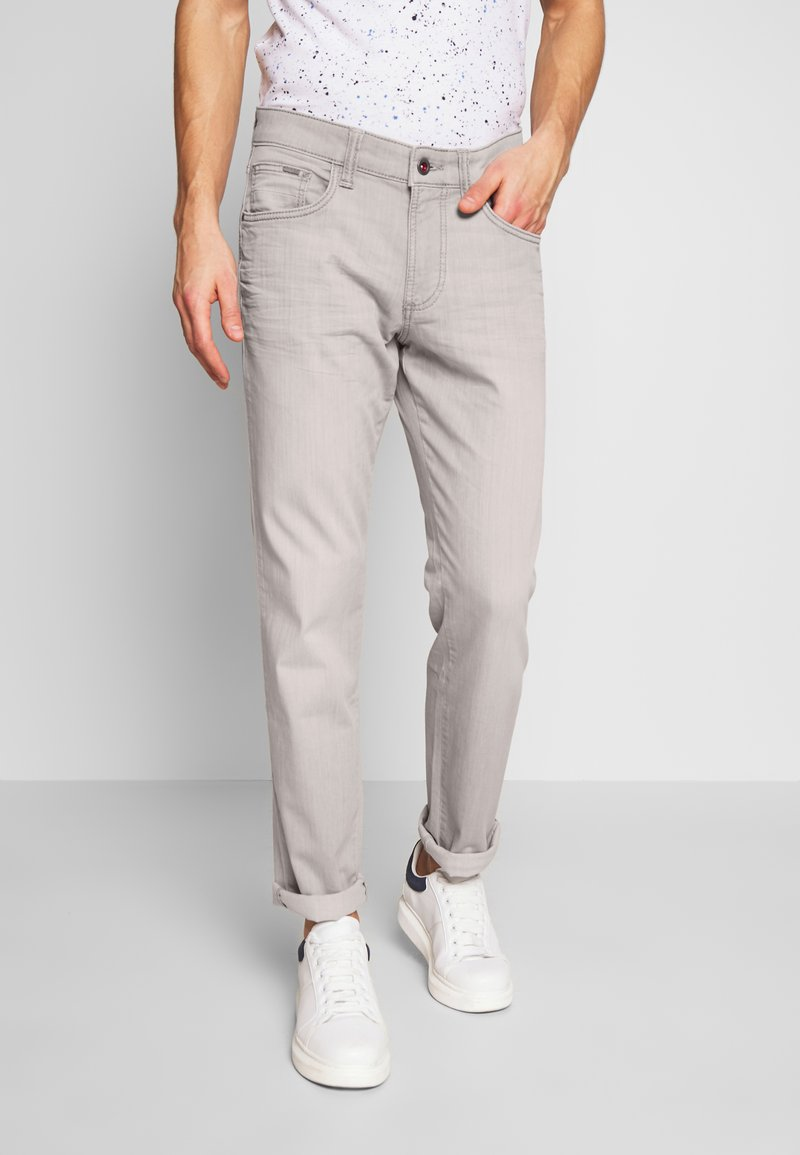 camel active - Straight leg jeans - grau