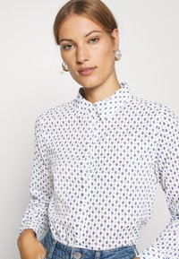 Benetton - Button-down blouse - white - 3