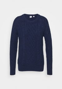 GAP - CABLE CREW - Jumper - navy marl - 4