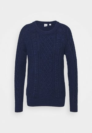 CABLE CREW - Jumper - navy marl