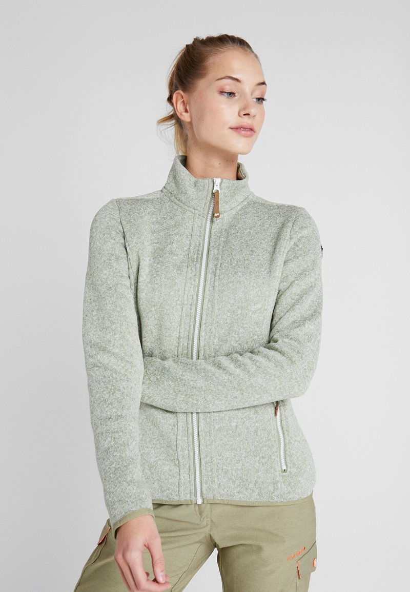 Icepeak - AUTUN - Fleece jacket - antique green