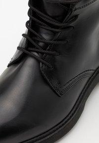 Timberland - BOOT - Šněrovací kotníkové boty - black - 5