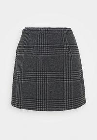 Abercrombie & Fitch - WEBEX PLAID MINI - Mini skirt - black - 0