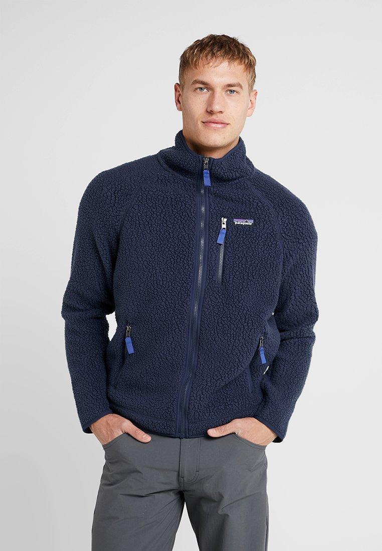 Men RETRO PILE - Fleece jacket