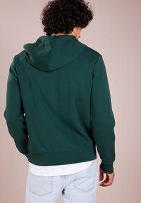 Polo Ralph Lauren - DOUBLE TECH - Huvtröja med dragkedja - college green - 2