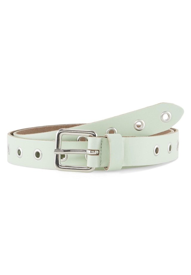 MIT LOCHNIETEN - Belt - mint