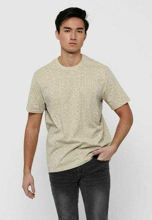 T-shirt med print - pelican