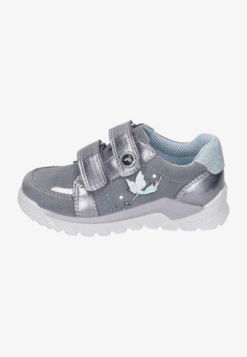 Touch-strap shoes - graphit/grau/himmel