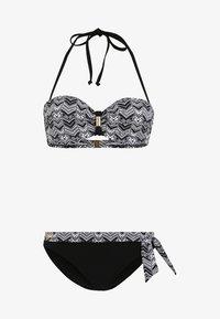 LASCANA - SET - Bikini - black/white - 6