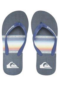 Quiksilver - T-bar sandals - blue/blue/black - 1