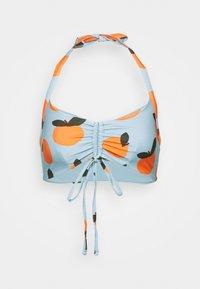 We Are We Wear - ECO RITA GATHERED FRONT CROP - Bikini top - multi-coloured - 4