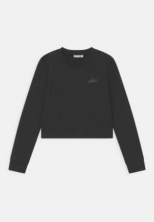 NKFTINTURN CROP - Sweatshirt - black