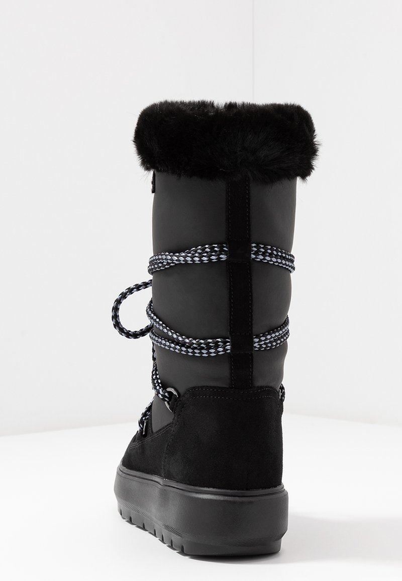 Honesto robo unir  Geox KAULA ABX - Botas para la nieve - black/negro - Zalando.es